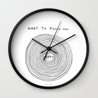 What To Focus On Wall Clock