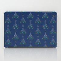 Christmas Trees Pattern iPad Case