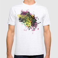 Club Leo Mens Fitted Tee Ash Grey SMALL