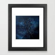 Celestial Map Framed Art Print