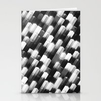 we gemmin (monochrome series) Stationery Cards