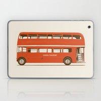 Red London Bus Laptop & iPad Skin