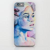 iPhone & iPod Case featuring Daenerys Targaryen - game of thrones  by Slaveika Aladjova