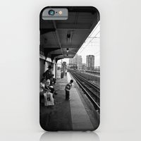 Waiting for Train iPhone 6 Slim Case