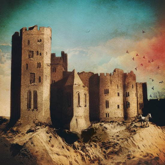 Sand Castle  Art Print