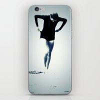 Woman Emerging iPhone & iPod Skin