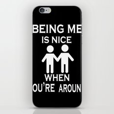 Being Me is Nice iPhone & iPod Skin
