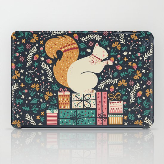 Merry Little Squirrel  iPad Case