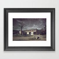 Dead & Gone Framed Art Print