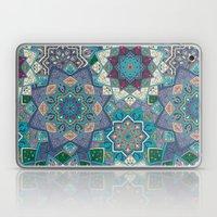 Floral Boho Mandela Pattern Laptop & iPad Skin