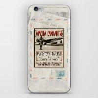 Mystery Tours & Flights of Fancy iPhone & iPod Skin