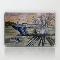 Blue Breaching Whale  Laptop & iPad Skin