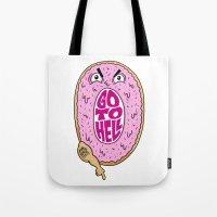 Mad Donut Society Tote Bag