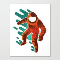 Space Distortion Canvas Print