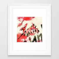 Punk Framed Art Print
