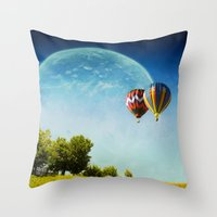 Dreamland Explorers Throw Pillow