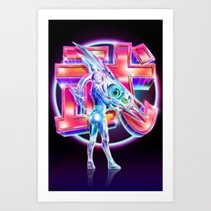 Takeshi Art Print