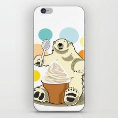 Polar bear's summer time iPhone & iPod Skin