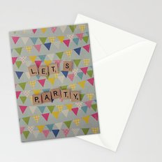 Lets Party Stationery Cards