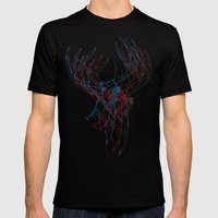 Deerly Beloved Mens Fitted Tee Black SMALL