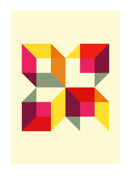 Boxy Music (Alt) (2010) Art Print