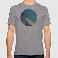 Needle Mens Fitted Tee Athletic Grey SMALL