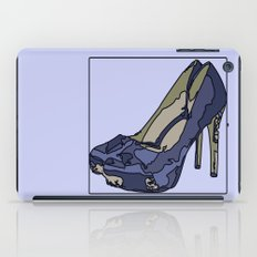 Blue sweet shoe -or....? iPad Case