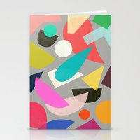 colored toys 1 Stationery Cards