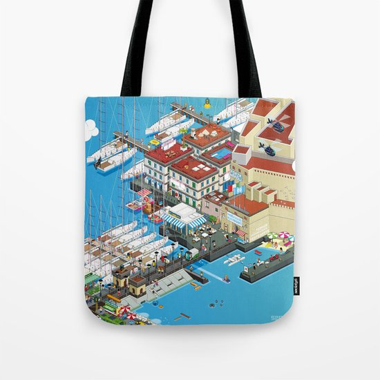 see Naples and then die! Tote Bag