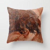 Tardigrade Throw Pillow