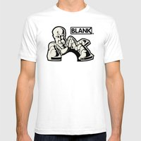 BLANKM GEAR - KRYLONMAN … Mens Fitted Tee White SMALL