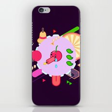 Tasty Visuals - Cherry Poppin' (No Grid) iPhone & iPod Skin