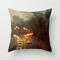 Taxicab Confessions - Ne… Throw Pillow