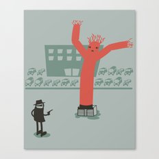 Highway Robbery Canvas Print