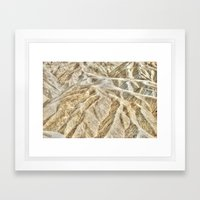 Death Valley desert Framed Art Print
