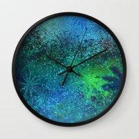 underwater fantasy Wall Clock