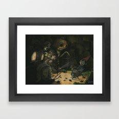 Over the Garden Wall Framed Art Print