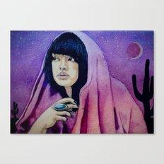 The Setter of Desert Suns Canvas Print
