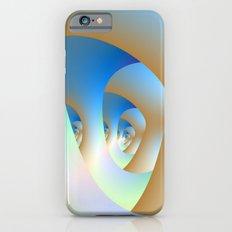 Blue Labyrinth iPhone 6 Slim Case