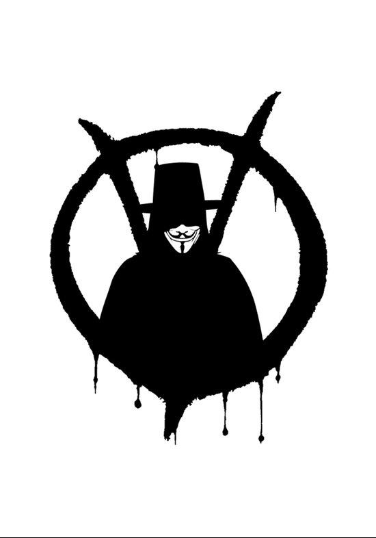 V for Vendetta1 Art Print