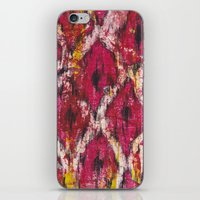 Ikat1 iPhone & iPod Skin