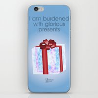 I am burdened with glorious presents iPhone & iPod Skin
