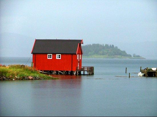 Inderøya , Norway Canvas Print