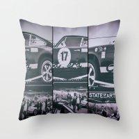 Historic Car Throw Pillow