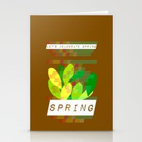 Celebrate Spring Stationery Cards