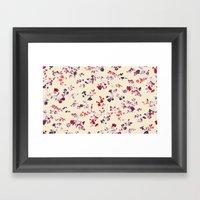 Floral Vines Framed Art Print