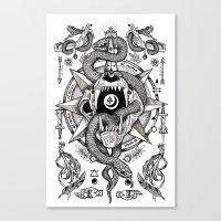 Ad Mortumn Canvas Print