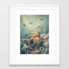Seachange Framed Art Print
