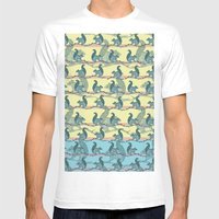 Squirrels! Mens Fitted Tee White SMALL