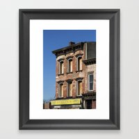 Untitled, Boarded Up Win… Framed Art Print